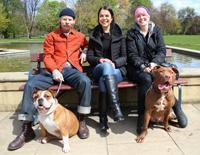 Roscoe, Lil, Jess, Frank and Mimi
