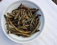 Crusted Green Beans Dog Treat Recipe