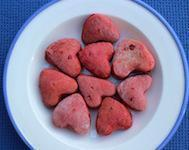 Valentine's Day Heart Dog Biscuits