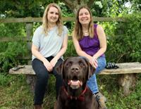 Bertie, Sue and Hannah